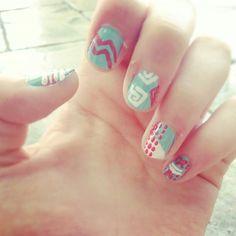 Summer nails #DIY #Design #Nails