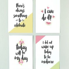 Printable Morning Motivational Art Prints