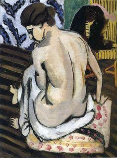 Nude's Back - Henri Matisse
