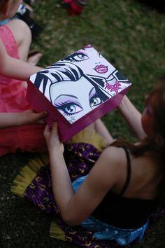 Chic Monster High Festa pt Taís ideias verdadeiramente Impressionante atraves das Ideias fazer Partido de Kara | KarasPartyIdeas.com MonsterHi ...