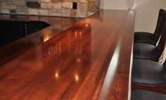 Maple Wood Bar Top Rail By Grothouse   Traditional   Kitchen Countertops    San Francisco   By The Grothouse Lumber Company