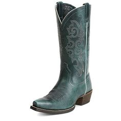 Womens Ariat Alabama Waterfall Cowboy Boots  #10012899 #Cowgirl #western #turquoise