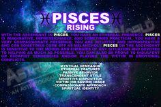 Pisces rising/ascendant