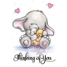 Elefantinho com Ursinho
