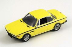 Spark diecast model 1/43 scale 1973 BMW 3.0CSL E9 Injection in yellow! £42.99