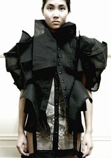 Lilogi.com - inspiration image, avant-garde fashion, art, craft, #avantgarde #fashion - via @kennymilano