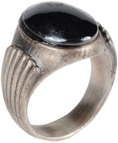 First people first Ring in Silver for Men