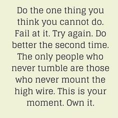 This is your moment, own it! #motivation #inspiration