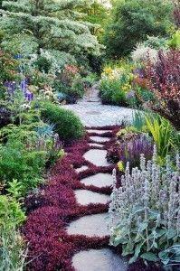 Caminos  para el jardín