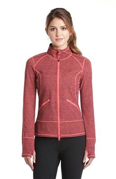 Free shipping and returns on Zella 'Streamline Cross Dye' Jacket at Nordstrom.com. A sleek silhouette and lightweight wicking fabric are the perfect combination to take you from warm-up to cool-down, and beyond. Yoga Fashion, Sport Fashion, Fitness Fashion, Polo Shirt Women, Polo Shirts, Outdoor Fashion, Moda Fitness, Nautical Fashion, Winter Coats Women