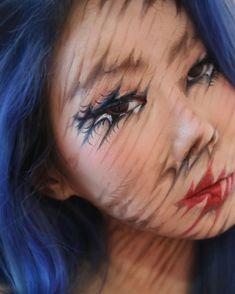 Лицо, которому нельзя верить: кореянка создает оптические иллюзии на собственном теле ( 23 фото) | Екабу.ру - развлекательный портал