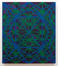 TODD CHILTON: Angles and Lines, Violet, 2009