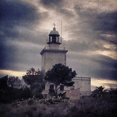 Built in 1849 the lighthouse at Gran Alacant, Alicante  served another purpose - as a lookout station too.