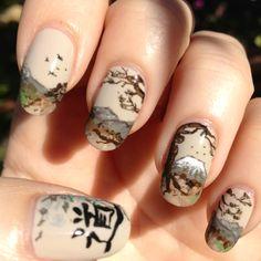 """Il monte Fuji, e l'ideogramma che significa """"percorso""""... Giappone!"""
