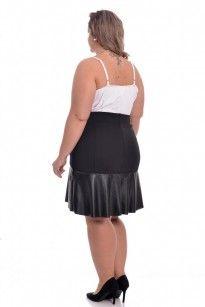Moda Feminina - Saias - VK Moda Plus Size