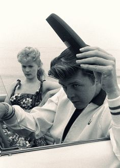 Kookie, Kookie, lend me your comb  :) .. Connie Stevens and Ed Byrnes