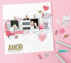 Instagram Crate Paper, Stencils, Layout, Scrapbook, Mini Albums, Diy, Boyfriend Stuff, Instagram, Birthday Gifts For Boyfriend