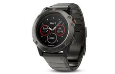 The Garmin fenix Sapphire Edition in slate gray with a black band and a sapphire scratch-resistant lens. Designed with multi-sport athletes in mind. Garmin Fenix Multisport GPS Watch with Full-Color Map Guidance Sport Watches, Watches For Men, Gps Watches, Popular Watches, Wrist Watches, Fitness Watch, Heart Rate Monitor, G Shock, Fitness Tracker