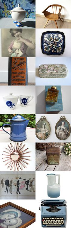 ♥ ♡ ❤ Vintage gift ideas from France >>> 10% off by Victor on Etsy--Pinned with TreasuryPin.com