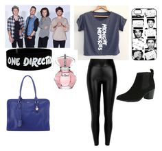 """A day with 1d"" by kaylaywla-1 ❤ liked on Polyvore"