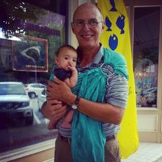 Hazel's Papaw #babywearing! #sakurabloom