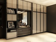 """""""A common mistake that people make when trying design something completely foolproof is to underestimate ingenuity of complete fools"""" - Douglas Adams Classic House, Modern Classic, Classic Style, Douglas Adams, Wardrobe Design, Dressing Table, Jakarta, Wardrobes, Home And Living"""
