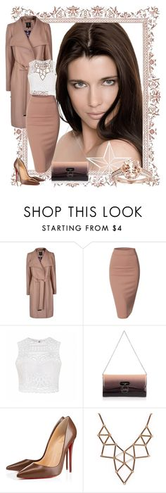 """""""Untitled #124"""" by lara-isa ❤ liked on Polyvore featuring Ted Baker, Doublju, Ally Fashion, Christian Louboutin and Chicnova Fashion"""