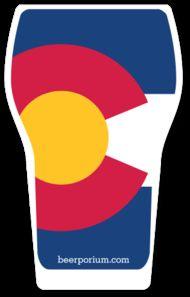Colorado Craft Beer Sticker - Pint