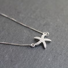 Take this little sea creature with you wherever you go to remind yourself that this summer the beach is never far away. Silver Starfish Pendant Necklace £25 NU-NU Fine Jewellery https://folksy.com/shops/nunu