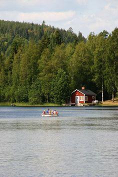 Summer in Spillhammar, Rumskulla, Småland, Sweden