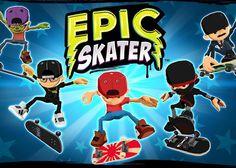 Ver Conviértete en una leyenda del patín en Epic Skater
