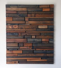 Wood Wall Art by RusticWarmthDecor on Etsy https://www.etsy.com/listing/184925625/wood-wall-art