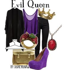 Evil, but stylish!  Evil Queen, created by lalakay on Polyvore  #SephoraColorWash