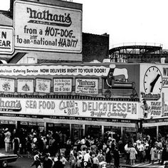 Coney Island in the 1950s