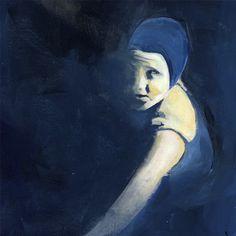 Blue Swimmer by kikiandpolly on Etsy, $20.00
