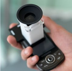 Netra (image above from WebMediaMIT) is the world's first smartphone eye diagnostic. With Netra, anyone, anywhere can conduct thier own eye test with accuracy and ease using a smartphone and the Netra clip-on device