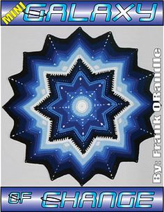 Mini Galaxy of Change ~ free pattern for first 39 rows ᛡ