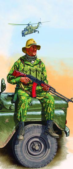 Spetsnaz operator in Afghanistan