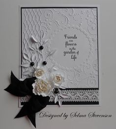 Selma's Stamping Corner and Floral Designs--Nellie snellen EF round frame1 MB trellis borderand fresh foliage leaves