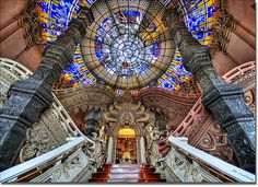 The stairs and grand entranceway to the beast . . | Flickr - Photo Sharing!
