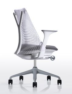 SAYL by Yves Behar for fuse project - this is the chair that I have in my office at home (but in black)