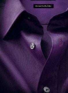 the purple shirt