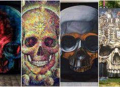 TOP 10 Arte sem Fronteiras – Murais de Caveiras