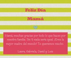 Mother's Day Electronic Cards - LaBelleCarte. For more info visit: www.LaBelleCarte.com // Tarjetas virtuales para el día de la madre - LaBelleCarte. Para mas información visita: www.LaBelleCarte.com