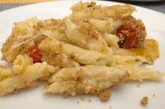 The Three Bite Rule - Caprese Mac & Cheese