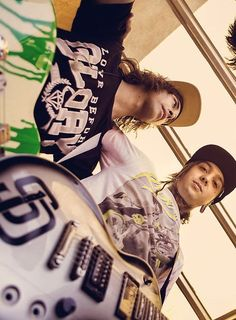 Vic Fuentes and Tony Perry