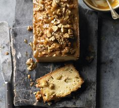 Delicious apple caramel nut bread, (minus the polish blog)  I think it looks perfect!