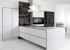 Keukenspecialist.nl Eksclusive hooglans wit - Product in beeld - Startpagina voor keuken ideeën   UW-keuken.nl