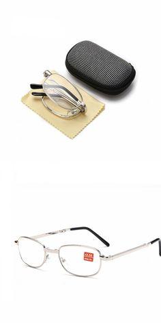 Full metal frame glass lenses female male Reading Glasses Women Men Unisex Eyewear 1.0 1.5 2 2.5 3 3.5 4  jr03