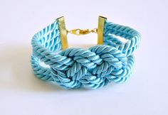 Knotted Cord Bracelet http://www.handimania.com/diy/knotted-cord-bracelet.html